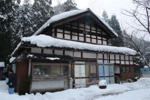 昨年の冬の景色